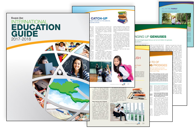 Bangkok Post International Education Guide 2017-2018