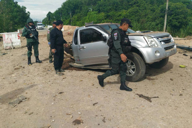Pattani blast 'carried out by six people'