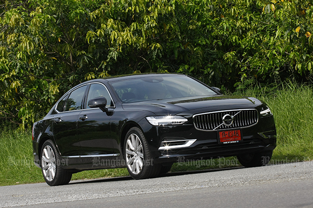 Volvo S90 T8 Inscription (2017) review