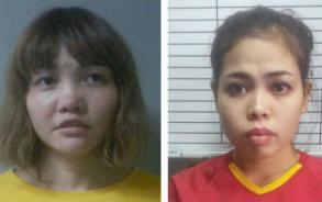Two charged with killing Kim Jong-nam plead not guilty