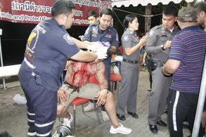 Iranian tourist bashed in Pattaya
