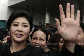 Police: Yingluck in UK, Interpol red notice sought