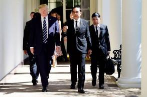 Prayut promises Trump election date