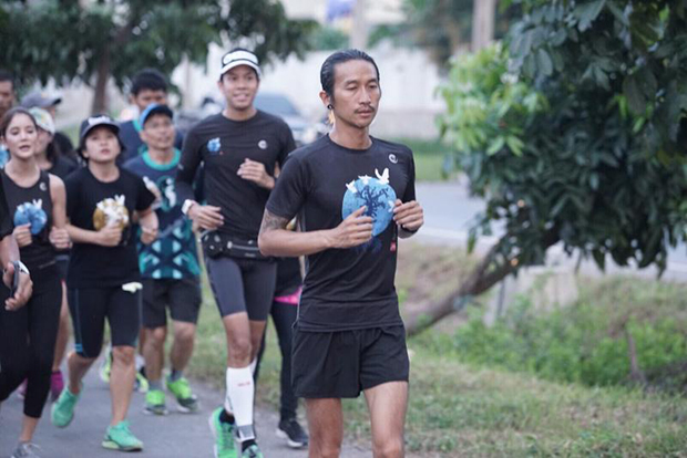 Toon Body Slam to run 2,191km for 11 hospitals
