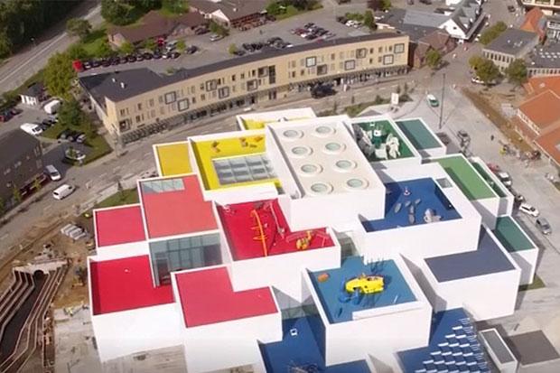 Lego inaugurates giant play house