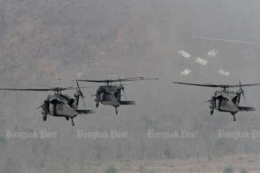 Prawit denies chopper deal 'to please' US