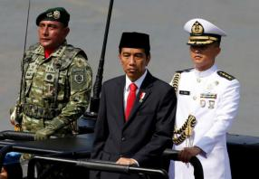 Indonesia's president: Military should stay out of politics