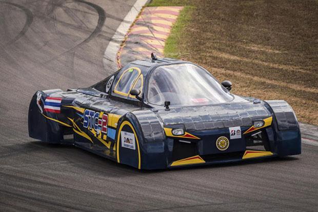 Thai Cars Join Solar Powered Race Across Australia