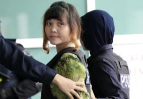 Trial in Kim murder visits lab to examine VX-tainted clothes