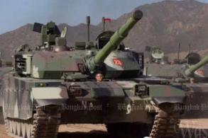 First batch of 28 China-made tanks rolls in