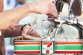 Last pint pulled in 7-Eleven