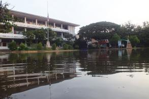 Phimai district braces for flooding