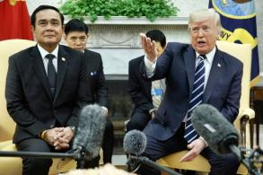 Trump 'reached out' to Prayut at White House meet