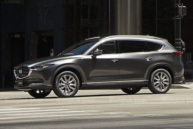 Mazda mulls Thai sales of new CX-8 SUV for 2018