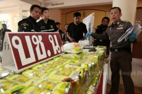 Cops bust billion-baht ice shipment