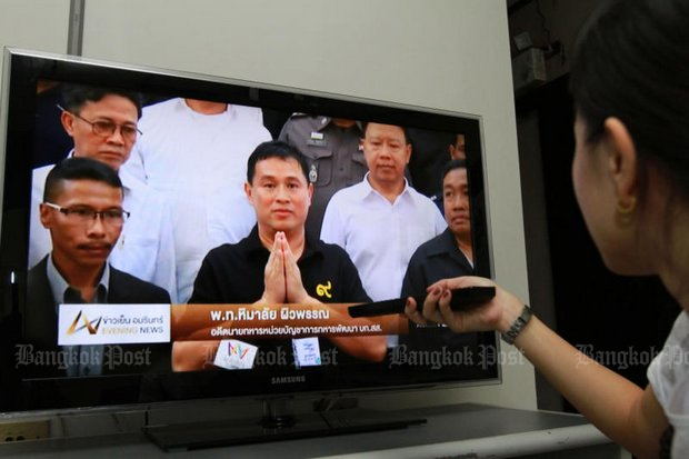 Prayut deflects digital TV aid request