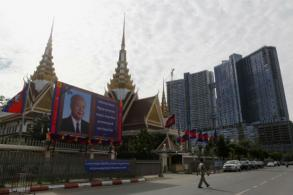EU, Japan urged to mull halt in funding for Cambodian election