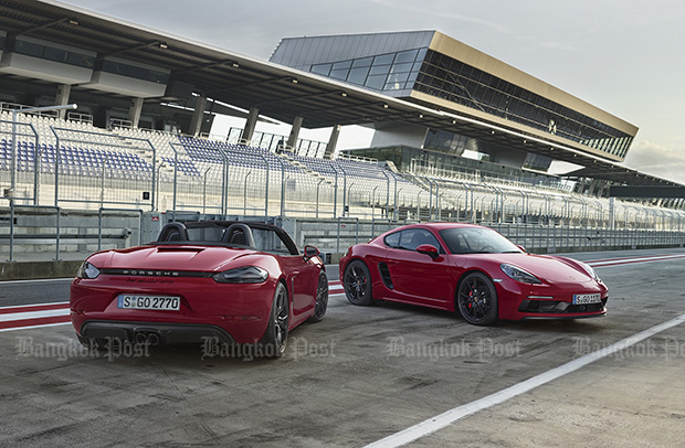 Porsche gives 718 Boxster and Cayman the GTS treatment