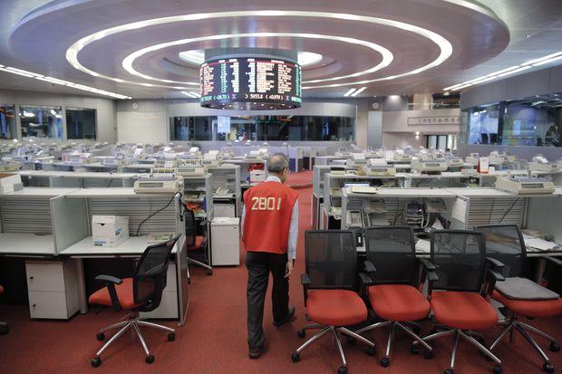 Hong Kong stock trading floor set to close