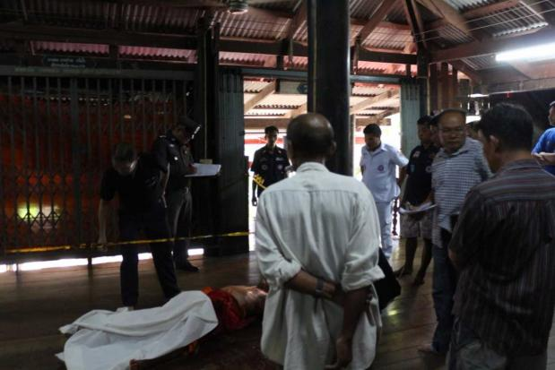 Ratchaburi monks fight with shears, knife; one dead | Bangkok Post: news