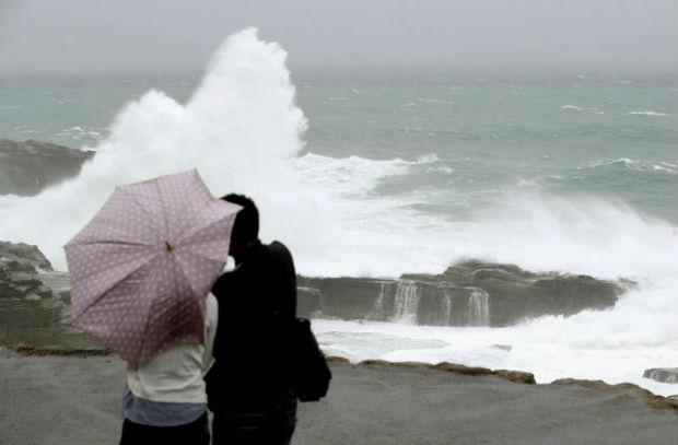 Powerful typhoon drenches Japan as voters trudge to polls | Bangkok Post: news