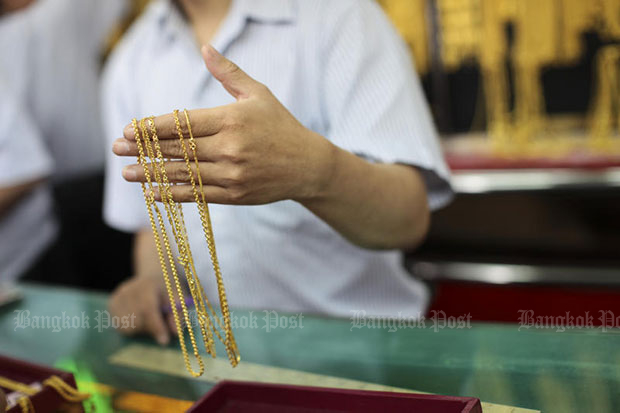 Gold prices down B50 to B20,100