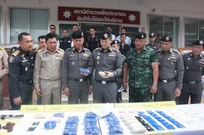 Ex-convict arrested with drugs, weapons in Surat Thani