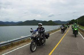 Big bikes steer tourism off the beaten track