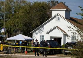 After 26 die at Texas church, shooter's profile emerges