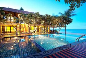 Pranburi's top 5 beachfront hotels with swimming pools