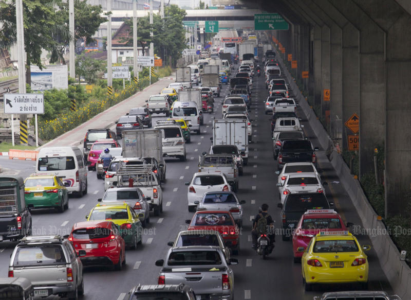 Don Mueang users warned of traffic congestion
