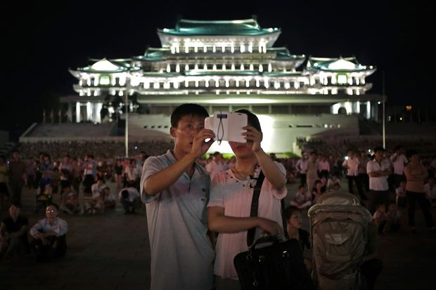 Selfies and surveillance: North Korea's new connectivity