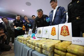 Huge Malaysia-bound drug haul made