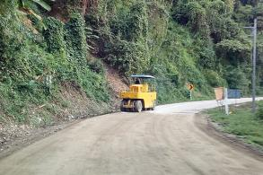 Roads in Tak being repaired for high season