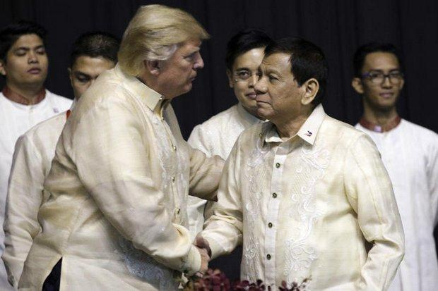Trump & Duterte hold bilateral talks