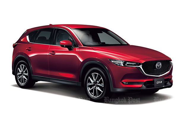 Mazda launches all-new CX-5 in Thailand