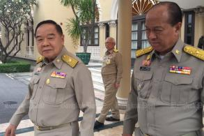Prawit frets at poll campaigns