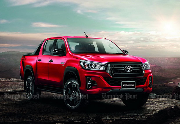 Toyota facelifts Hilux Revo pickup for 2018
