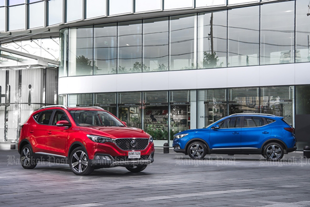 MG introduces ZS baby SUV in Thailand