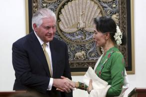 Tillerson: Individual sanctions more likely for Myanmar