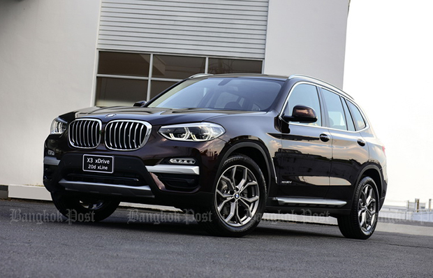 Thai pricing and specs revealed for 2018 BMW X3