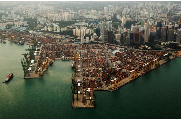 Singapore October exports rise most in 2½ years
