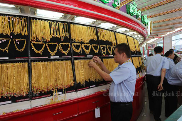 Gold prices stable at B20,100