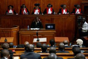 Kenya court upholds Kenyatta's win in repeat election