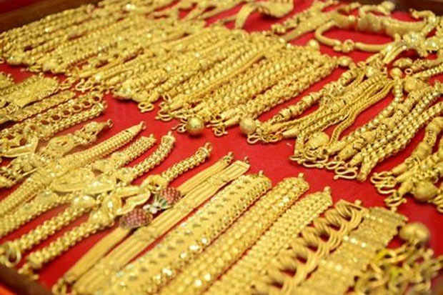 Gold prices down B100 to B19,950