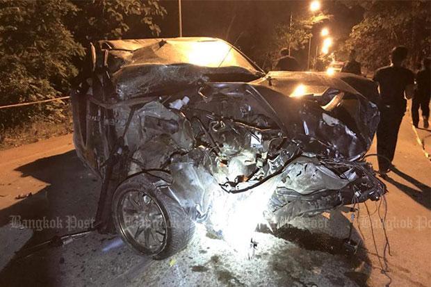 People in stolen car killed in crash