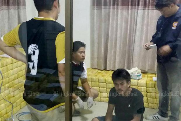 Meth man caught in Samut Prakan