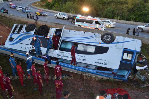 Dangerous roads 'damaging the economy' | Bangkok Post: learning