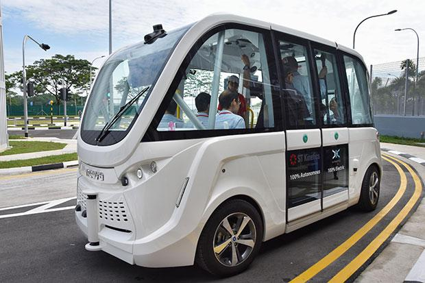 Singapore opens test circuit for autonomous vehicles | Bangkok Post: news