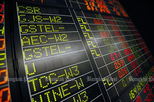 SET down 2.24 to 1,710.89 at midday